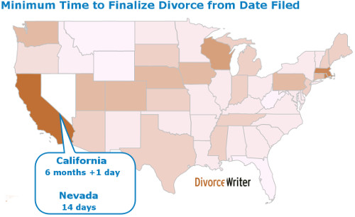 How long does a divorce take divorcewriter minimum time to finalize divorce from filing date solutioingenieria Images